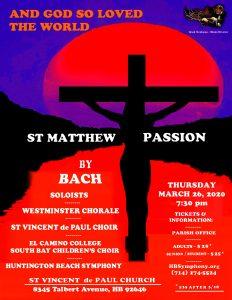 St Matthew Passion by J. S. Bach